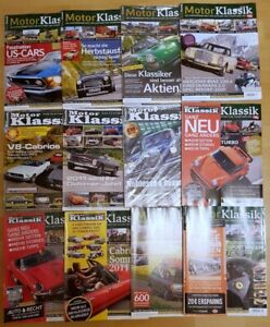 Motor Klassik Jahrgang 2011 komplett Hefte 1-12 Zeitschrift Automobile Oldtimer