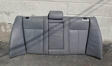 BMW E39 5-Series Sedan Rear Fold-Down Seat Back Grey Leather 1997-2003 USED OEM