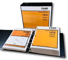 Case 1370 Tractor Service Repair Manual Parts Catalog Technical Shop Set Books