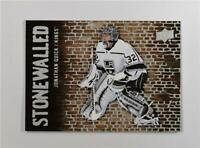 2018-19 Upper Deck UD Series 1 Stonewalled #SW-29 Jonathan Quick