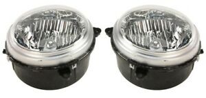 Left & Right Mopar Headlights Headlamps Pair Set For Jeep Liberty To October 03