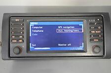 BMW E53 X5 monitor bordmonitor widescreen display 16:9 6934413 6923878