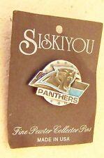 Carolina Panthers pewter lapel pin c30069 NFL