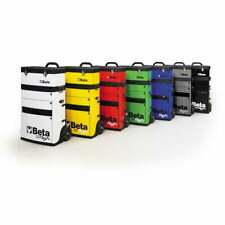 Beta Tools Beta C41H Tool Trolley With Detachable Tool Box Red