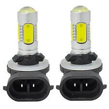 2PCS 881 6000K HID White COB LED Fog Lights DRL Bulbs H27W/2 886 889 894 896 898