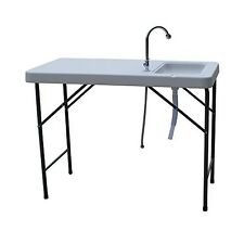 Portable Fish Fillet Cleaning Table Outdoor Camping Hunting Cookout Folding Tool
