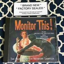 Monitor This! The Music Monitor Network Sampler Promo CD *BRAND NEW SEALED*
