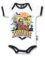 SIX Bunnies Zombie Body ALTERNATIVE BAMBINO VESTITI gotico punk rock METALLO