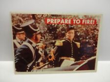 1956 T.C.G. Davy Crockett Green Back Prepare To Fire! Card # 23-A