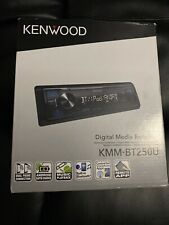 New Kenwood Stereo Radio KMM-BT250U Digital Media Receiver Bluetooth Sirius XM