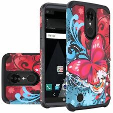 Bliss Design Dual Armor Hybrid Case Cover For LG Aristo / LV3 MS210 / K8 2017