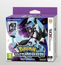 Pokemon Ultra Moon Fan Edition SteelBook Nintendo 2DS 3DS New & Sealed