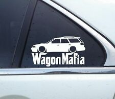 Lowered WAGON MAFIA sticker - for Subaru Legacy turbo (BG, 1994-1998) JDM