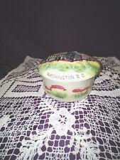 antique pottery container washington d.c. desk container 1900's
