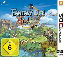 Fantasy Life (Nintendo 3DS, 2014, Keep Case)
