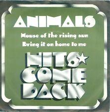 "ANIMALS - HOUSE OF THE RISING SUN ( DUTCH  COLUMBIA 5C006-93502 X ) 7""PS"