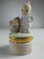 Precious Moments 1998 #495891 God Loveth A Cheerful Giver Great Condition