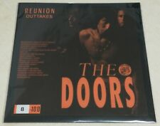 "THE DOORS  Ultra-Rare Black Vinyl LP ""REUNION"" OUTTAKES  SUPERB ITEM !!!"