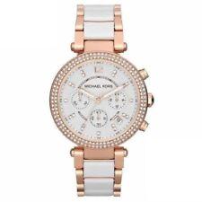 Original Michael Kors Damen Uhr MK5774 Chronograph Rose-Gold farben Neu & Ovp