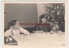 (F11217) Orig. Foto Familie Bager Weihnachten zu Hause 1941, Wohnung in Köln, Fr