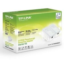 TP-Link TL-PA4010P KIT AV500 Powerline Adapter with AC Pass Through. AU model