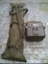 VINTAGE MILITARY RADIO GRC 9 ANGRY 9 HAND GENERATOR G-8A / GRC FIELD USE SET UP