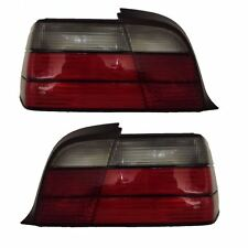 BMW 3 SERIES E36 2 DOOR COUPE 1990-2000 REAR TAIL LIGHTS SMOKED  PAIR