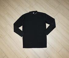 Mens COLUMBIA Tight Fitted Shirt Nylon Spandex Black Long Sleeve XL XLarge