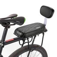 Bicycle Rear Seat Cushion Armrest Footrest Set Bike Back Seat