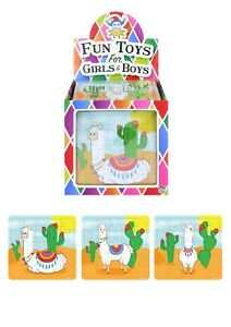 Llama 25 Piece Mini Jigsaw Puzzle Party Bag Fillers Toys Girls Favours Gift
