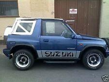 Suzuki 4X4 puerta lateral, coche decal, Pegatinas Coche Camión Camión OffRoad conjunto.