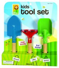 Garden Tool Set Outdoor Play Toys Kids Games Lawn Trowel Rake Shovel Included