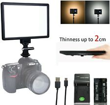 VILTROX L116T 5600K/3300K Bi-color LED Light Panel Dimmable Video Light Kit for