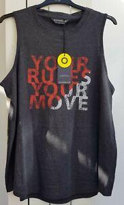 Womans New M&S Goodmove Sleeveless T Shirt Size 20