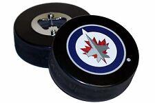 Winnipeg Jets Basic Logo NHL Hockey Puck Bottle Opener