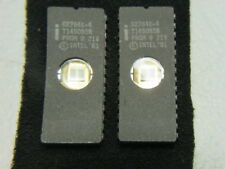 INTEL D2764K-4 IC Integrated Circuit 28Pin - Lot of 2 Pieces USED,CLEARED,TESTED