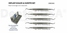 Dental USA-Implant Scaler & Curettes Set Code-SISC