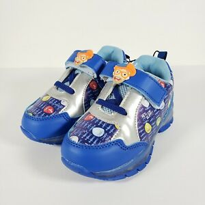 Blippi Shoes Boys Girls Toddlers Marked Size 10 Fits Like a Size 7 / 8 New