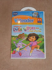 NEW, VTECH V. READER DORA THE EXPLORER INTERACTIVE GAME, AGES 3-5