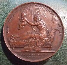 Médaille Naissance d'Henri V / Comte de Chambord / Duc de Bordeaux 1820 signée