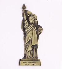 Statue of Liberty New York Fridge Magnet Bronze Metal Souvenir Gift New