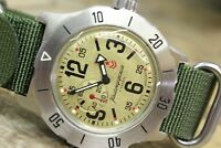 Russian Mechanical Automatic Wrist Watch VOSTOK Komandirsky K-35 350749