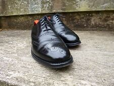 CHEANEY/Iglesia Zapato Oxford - Negro – UK 8.5 – chesham - EXCELENTE ESTADO
