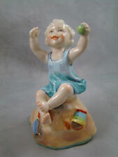 1950 Royal Worcester Sunday's Child Sabbath Figurine 4 7/8 inches tall Vintage