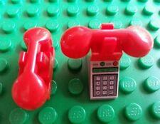 LEGO Custom Phone x1 Receivers x2 Wall Phone Batman Friends Belville Trees Train