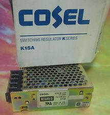 * NEW COSEL SWITCHING REGULATOR K15AU-5    5V3A ............. WL-60