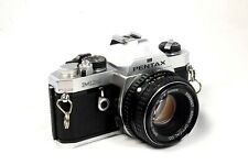 Pentax MX Manual Focus Camera Plus a 50mm Lens - Very Good