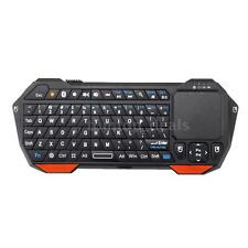 Wireless Bluetooth 3.0 Keyboard Multi-Touch Mouse Pad Backlit Qwerty Remote K4P5