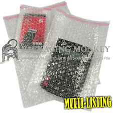 More details for quality clear bubble wrap pouches bags envelopes self seal packaging *all sizes*