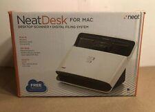 Neat Desk ND-1000 Desktop Feed Through Scanner Digital For Mac COMPLETE